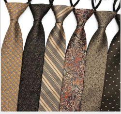 Zipper Lazy للرجال من فئة الخدمات الرسمية فئة رجال الأعمال ذات العنق المجاني 8 سم من الفئة الفنية بلى