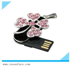 أحدث مجوهرات Slipper Neckrace USB 2.0 فلاش محرك الأقراص