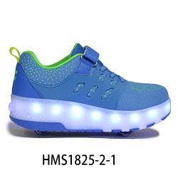 Benutzerdefinierte Großhandel Preis Mädchen Rad Schuhe Kinder Roller Skate Schuhe Mit zwei Rädern