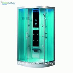 Het geautomatiseerde Aangemaakte KUUROORD van het Glas integreert de Zaal van de Douche van de Stoom van de Badkuip