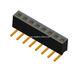 Placa a placa Socket hembra cabezal IC Plastic Pin conector tipo DIP