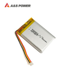 UL CB 603450 fábrica Lipo recargable de 3,7V 1050mAh batería de polímero de litio para el equipo médico