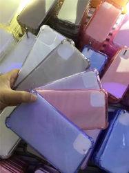 Weiche TPU löschen Telefon-Deckel, das 1.50mm Telefon-Kasten mit Eckschutz vier für iPhone 11+PRO+Max