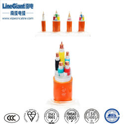 Niedrig-Rauch 3+2 Halogen-Freies anorganisches MI elektrisches Isolierwirecables (WTTEZ)/elektronisches Kabel