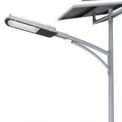 مصابيح شمسية خارجية للمنزل مع عمود إضاءة قديم بشارع LED