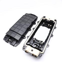 Китайского поставщика цена 48 Core Купольного типа 2 в 2, оптоволоконный соединитель жгута проводов корпуса черный оптоволоконный разветвитель закрытия