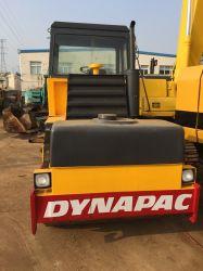 Utilisé la vibration d'un compacteur Dynapac cc211 tambour double