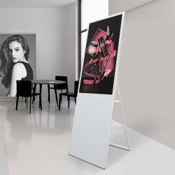 55-Zoll-LCD-Touchscreen Android Präsentationsausrüstung Intelligent Portable Cosmetics Makeup Kiosk