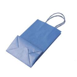 حقيبة ورق من نوع Kraft مخصصة بالكامل