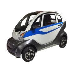 閉鎖4つの車輪の電気小型人を配置された自動車