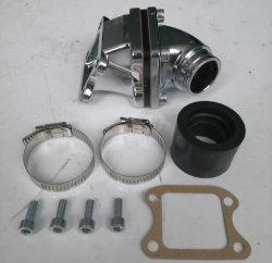 Il tubo adduttore molteplice della presa del motore del motociclo 80cc Dio ripara la presa per il motorino di YAMAHA Jog50
