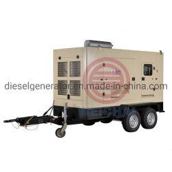 Type de remorque de nouvelle conception de 300KW 375kVA Diesel Groupe électrogène de puissance