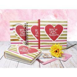 Художественные книги крышки бумаги связано свадебный Фотоальбом с 10x15см фото