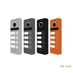 4 Tasten-videotür-Telefon-Türklingel-Wechselsprechanlage-inländisches Wertpapier