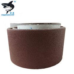 Chiffon de papier de verre de carbure de silicium P120 King bovins abrasifs