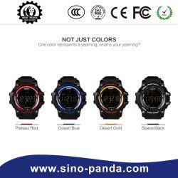 Horloge van de Sporten van de Prijs van Wholesales Ex16 het Slimme met Lichtgevende Wijzerplaat, Chronometer van de Foto van de Herinnering van de Steun SMS de Verre