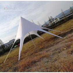 Brillant Dia personnalisé. 5mx h 10m Star, Star de l'auvent de tente en forme de rectangle, star de l'ombre tente Gazebo