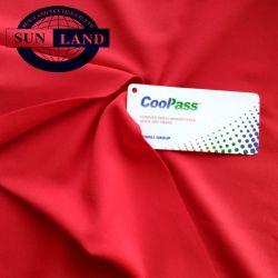 De droge Geschikte Vochtigheid Comfortabele PolySpandex breit Weft Stof van Jersey voor Eenvormig Team