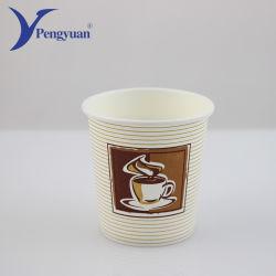 12 once isolés recyclés à simple paroi chaude tasse de papier