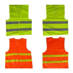 Kundenspezifische Fertigung-hallo Kraft-Arbeitskleidungs-Umhüllungen-reflektierende Sicherheits-Weste