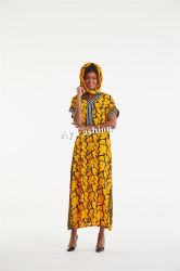 Les ventes de vêtements des femmes africaines chaque morceau de haute qualité au Nigéria ou style kaftan tissu imprimé de cire stock réel