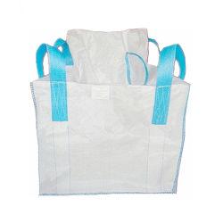 La Chine Le commerce de gros gros sac /plastique Sac tissé /sac vrac /Fibcs avec 4 boucles d'angle transversal