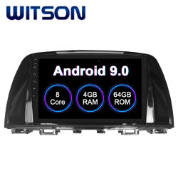 Lecteur multimédia Witson Android 9.0 2014-2016 pour voiture Mazda Mazda 6 4 Go de RAM 64 Go de mémoire Flash grand écran dans la voiture lecteur de DVD