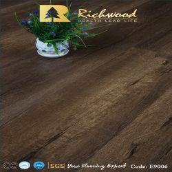 12.3mm ha impresso il pavimento V-Grooved orlato di Lamiante incerato quercia