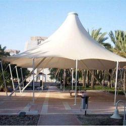 Tissu tente Rainproof PVDF parapluie de la membrane de la plage de toit