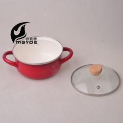 Venda por grosso de fábrica em esmalte panelas reta esmalte esmalte Pot Stock Pot