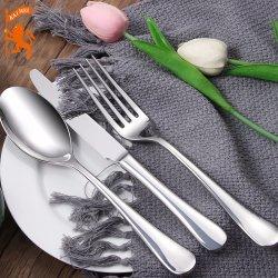 Acero inoxidable 304 Custom-Made horquilla vajilla/cuchara cuchillo/Cena ambiental de la herramienta de cocina cubiertos.