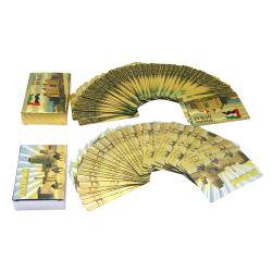 La Chine usine personnalisée de gros des cartes à jouer de cartes à jouer en plastique de haute qualité Box
