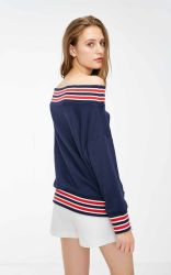 Для удобной женской Sweatshirt уникальный дизайн верхней одежды износа