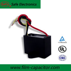 공장 CBB61 450VAC 1.5UF 전해질 AC 모터 시작 축전기