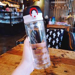 2020 году заводская цена Custom боросиликатного стекла бутылка воды с помощью силиконового герметика стакан горячей продажи продуктов с отскок винты с головкой крышки багажника