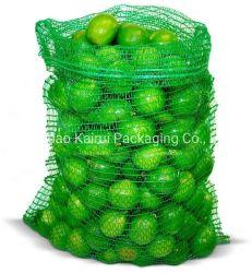 PEによってRaschelの編まれる網はまきのポテトのタマネギの包装のための袋を袋に入れる