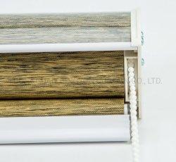 モデルカバー装飾のシマウマの停電ファブリック巻上げ式ブラインドを挿入しなさい