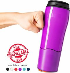 Sans BPA à double paroi coupe Unspillable d'aspiration en Plastique Bouteille d'eau chaude Amzon 450ml sur la vente
