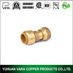 Guarnición de cobre amarillo Barb Manguera de 90 grados codo 10mm Púas x 1//8 PT Conector Macho Tubo