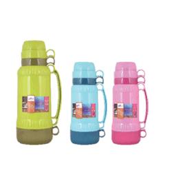 Vácuo plástico recipiente térmico / recipiente térmico com enchimento de vidro de 1 L de 1.8L