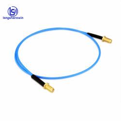 Custom mâle SMA vers fiche mâle SMA les connecteurs de câble coaxial RG402 assemblage de câbles RG141 Câble de pontage RF