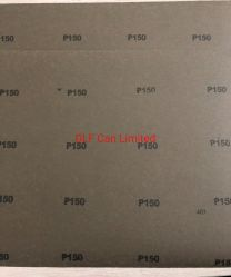 Lixa de papel úmido e seco para pintura de automóveis P150