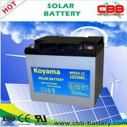 12V 24ah solar e eólica Bateria de fontes renováveis de energia do sistema