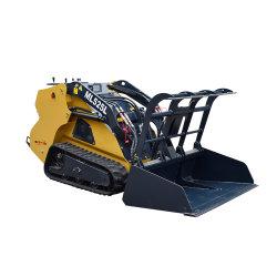 chargeuse à direction à glissement du chargeur de la machine pour le fonctionnement en environnement Site spécial étroit