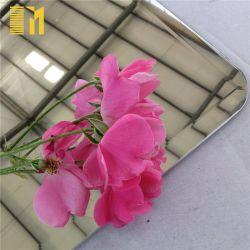 Commerce de gros 3mm 4mm Frameless miroirs miroirs muraux décoratifs sans cadre