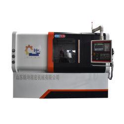 Equipamento do fuso de Taiwan na torre de VDI máquinas CNC cama de inclinação da ferramenta de Máquina Automática Preço Torno guia linear