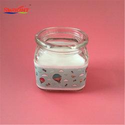 Freie Cup-Muster-Aufkleber-Milch für Geschenk-Glasglas-Kerze