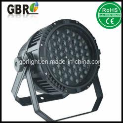 Exterior Impermeable IP65 54pcsx3w RGBW cambiando el color del LED de iluminación LED de la arandela PAR / Exterior LED PAR puede