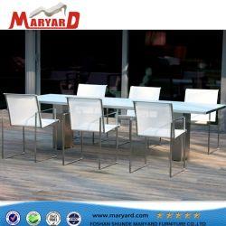 Tous les temps de meubles de jardin en aluminium moulé de plein air Table BBQ
