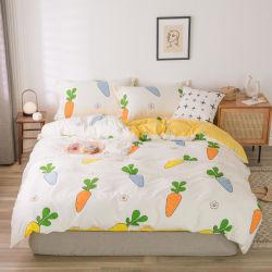 Qualidade fiável Consolador Home Hotel Tampa roupa define as capas de edredão 100% algodão Bedsheet Definido